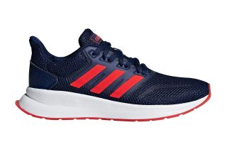 adidas RUNFALCON NAVY BLUE RED BOY F36543