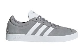 adidas VL COURT 2.0 GREY WHITE B43807
