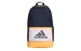 ADIDAS CLASSIC BADGE OF SPORT BLUE YELLOW BACKPACK