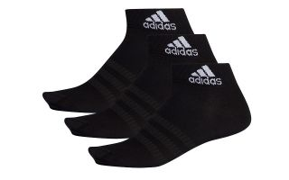 ADIDAS CALCETINES LIGHT ANK 3PP NEGRO