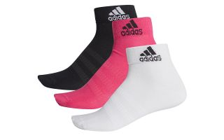 adidas CALCETINES TOBILLEROS LIGHT ANK 3PP MULTICOLOR MUJER