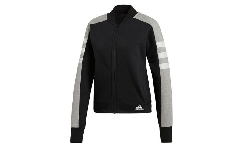 CHAQUETA SPORT ID NEGRO GRIS MUJER