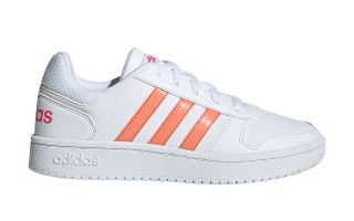 adidas HOOPS 2.0 WHITE ORANGE BOY EE6721