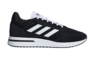 adidas RUN 70S BLACK WHITE EE9752