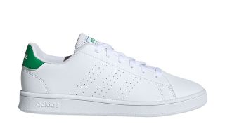 adidas ADVANTAGE WHITE GREEN BOY EF0213