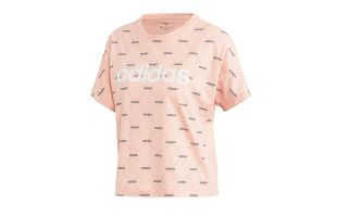 ADIDAS CAMISETA LINEAR GRAPHIC ROSA MUJER