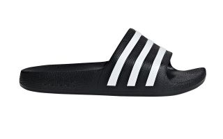 adidas ADILETTE AQUA BLACK WHITE BOY SANDALS