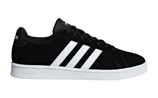 adidas GRAND COURT BLACK WHITE F36414