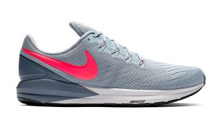 Nike AIR ZOOM STRUCTURE 22 GRIS ORANGE NIAA1636 405