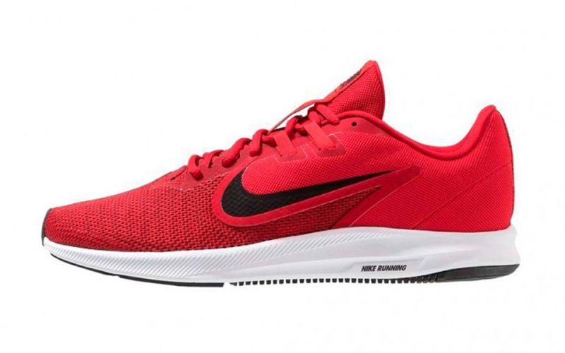 Seguro Pensar becerro  Nike Downshifter 9 rojo - Libertad de movimientos