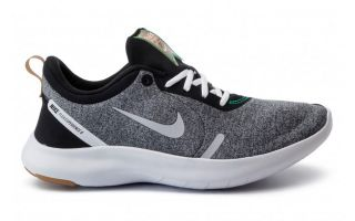 NIKE FLEX EXPERIENCE RN 8 GRIS NEGRO