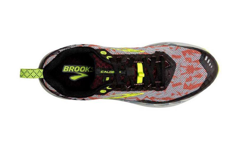 Brooks Caldera 3 rojo negro