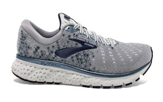 Brooks GLYCERIN 17 GRIS BLANCO 1102961D015