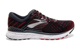 Brooks TRANSCEND 6 NOIR ROUGE 1102991D021