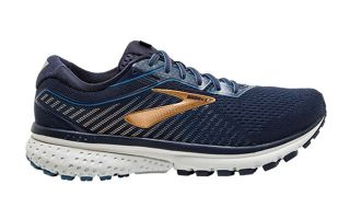 BROOKS GHOST 12 AZUL DORADO 1103161B489