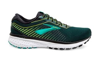 BROOKS GHOST 12 NEGRO LIMA 1103162E018