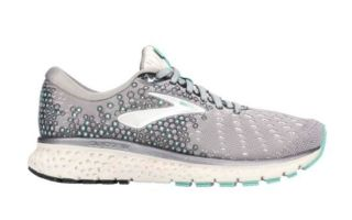BROOKS GLYCERIN 17 GRIS BLANCO MUJER 1202831D070