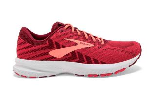 BROOKS LAUNCH 6 ROJO CORAL MUJER 1202851B628