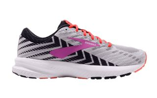 BROOKS LAUNCH 6 GRIS NEGRO MUJER 1202851D027