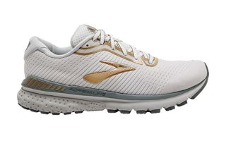 BROOKS ADRENALINE GTS 20 BLANCO GRIS GOLD MUJER 1202961B164