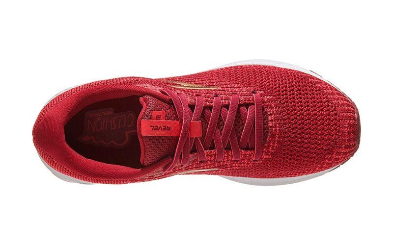 Revel 3 Rojo Blanco Mujer 1203021b694