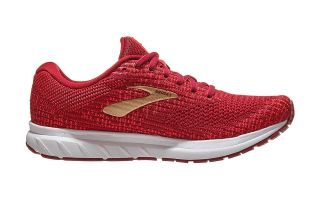 <center><b>Brooks</b><br > <em>REVEL 3 RED WHITE WOMEN 1203021B694</em>