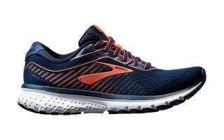 BROOKS GHOST 12 AZUL CORAL MUJER 1203051B480