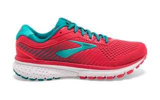 BROOKS GHOST 12 CORAL VERDE MUJER 1203051B672