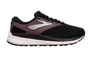 BROOKS ADDICTION 14 NEGRO ROSA PLATA MUJER 1203062E050