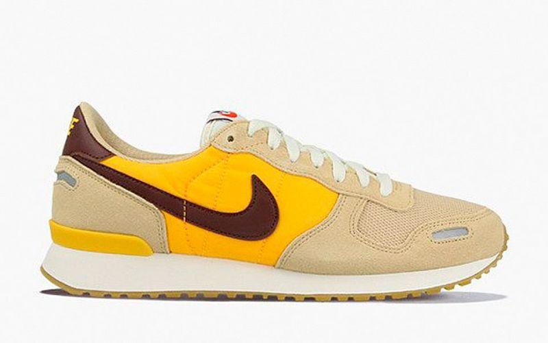 Nike Air Vortex marron jaune Confort et légèreté