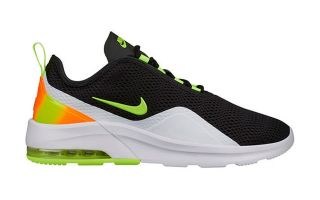 Nike AIR MAX MOTION 2 BLACK GREEN