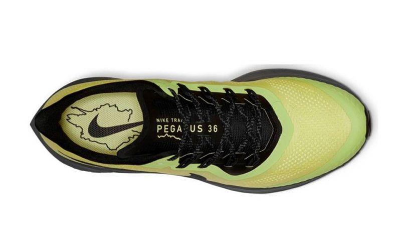 cucina un pasto canzone padrona di casa  Nike Air Zoom Pegasus 36 Trail green black - Comfortable fit