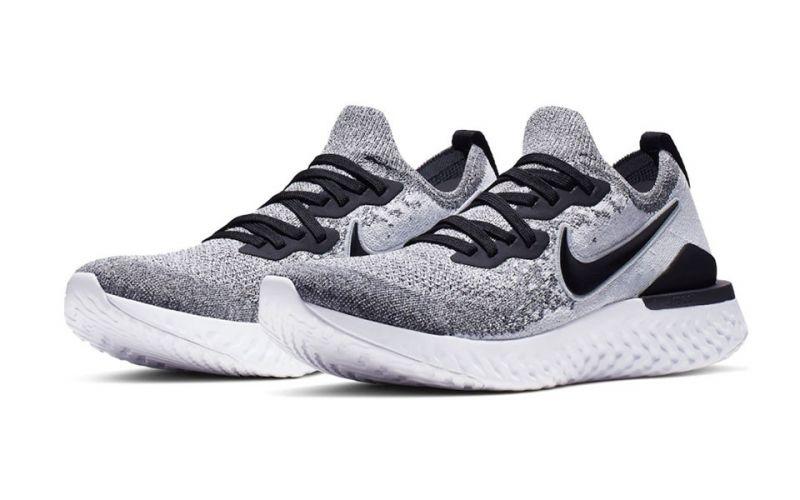 Nike Epic React Flyknit 2 grey black
