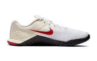 Nike METCON 4 XD BLANCO BEIGE ROJO NIBV1636 100
