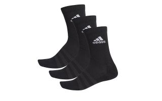 adidas CALCETIN CL�SICOS CUSHIONED 3 PARES NEGRO