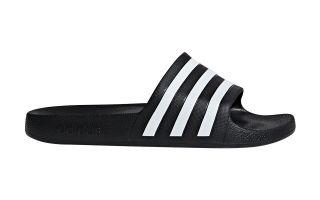 adidas ADILETTE AQUA BLACK SANDALS