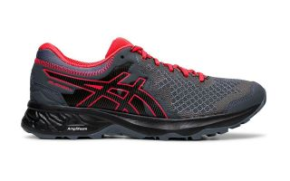 ASICS GEL SONOMA 4 GRIS ROJO MUJER 1012A160 020