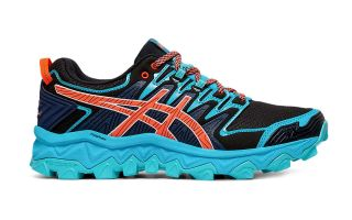 Asics GEL FUJITRABUCO 7 BLUE BLACK WOMEN 1012A180 400