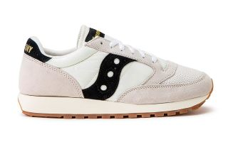 SAUCONY JAZZ ORIGINAL VINTAGE WHITE BLACK S70368-90