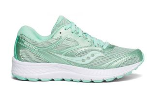 SAUCONY COHESION 12 GR�N WEISS DAMEN S10471-11