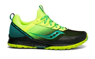 Saucony MAD RIVER TR 2 FLUOR YELLOW GREEN S20521-37