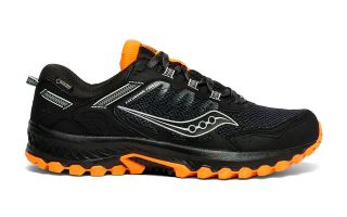 Saucony EXCURSION TR13 GTX BLACK ORANGE