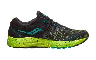 Saucony GUIDE ISO 2 BLACK GREEN