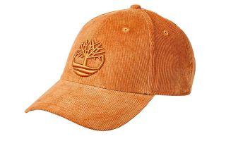 Timberland CORDUROY BASEBALL BROWN CAP