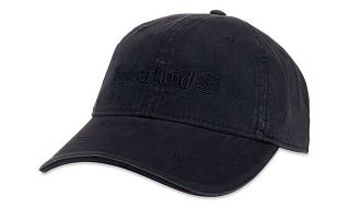 Timberland COTTON CANVAS LINER BLACK CAP