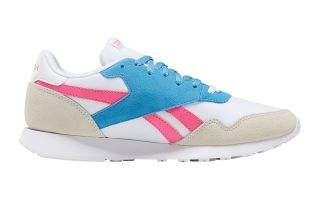 Reebok ROYAL ULTRA BIANCO BLU ROSA DONNA DV9524