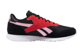 Reebok ROYAL ULTRA BLACK RED PINK WOMEN