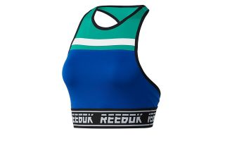 Reebok SUJETADOR MEET YOU THERE AZUL DY8114