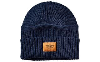 Timberland CAPPELLO INVERNALE RIBBED BLU
