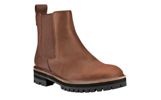 Timberland LONDON SQUARE DOUBLE GORE CHELSEA MARRON MUJER TB0A295G2031